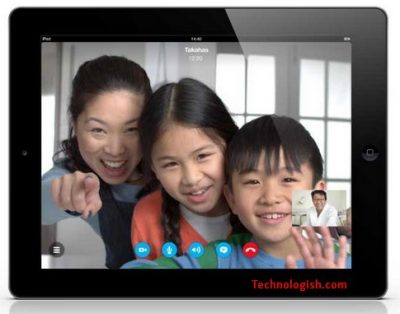 FaceTime for iPad