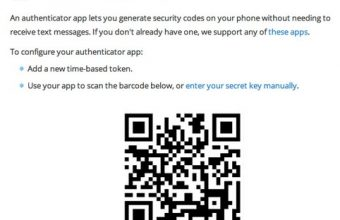 How to active Google Authenticator Barcode